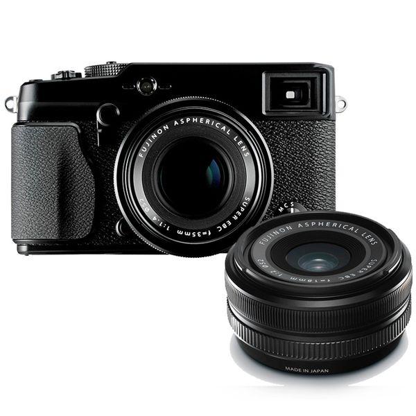 【中古】【1年保証】【美品】FUJIFILM X-PRO1 18mm 35mm ダブルレンズキット