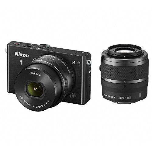 【中古】【1年保証】【美品】Nikon J4 ダブルズームキット ブラック
