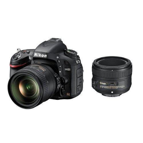 【中古】【1年保証】【美品】Nikon D600 24-85mm F3.5-4.5G ED VR + 50mm F1.8G