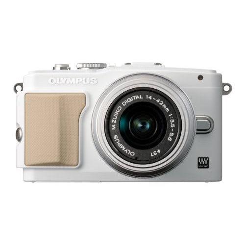 【中古】【1年保証】【美品】 OLYMPUS PEN Lite E-PL5 レンズキット ホワイト