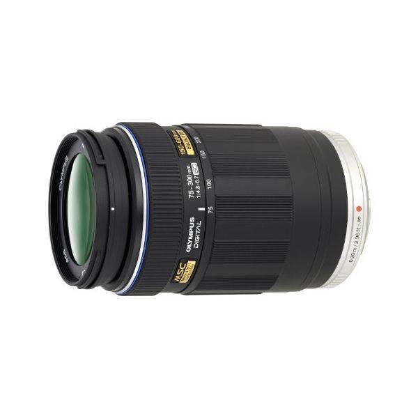 【中古】【1年保証】【美品】 OLYMPUS M.ZUIKO DIGITAL ED 75-300mm F4.8-6.7 ブラック