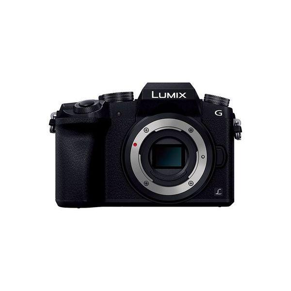 【中古】【1年保証】【美品】 Panasonic LUMIX G7 ボディ ブラック