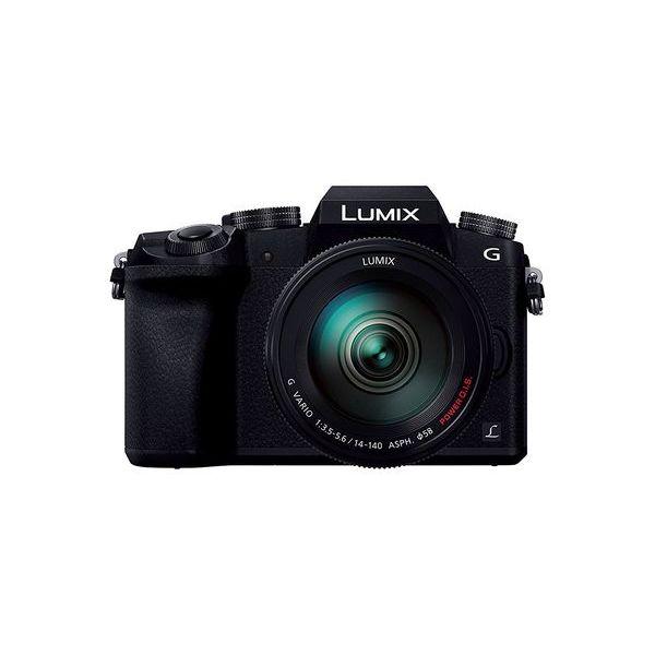 【中古】【1年保証】【美品】 Panasonic LUMIX G7 レンズキット14-140mm ブラック