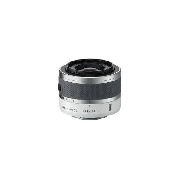 【中古】【1年保証】【美品】Nikon 1 VR 10-30mm F3.5-5.6 ホワイト