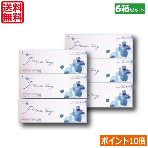 【送料無料】プライムワンデー 30枚×6箱【アイレ】【1日使い捨て】
