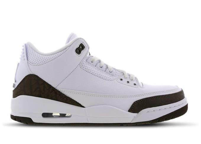 ジョーダン 3 ホワイト ダーク モカ ホワイト Jordan 3 White-Dark Mocha-White