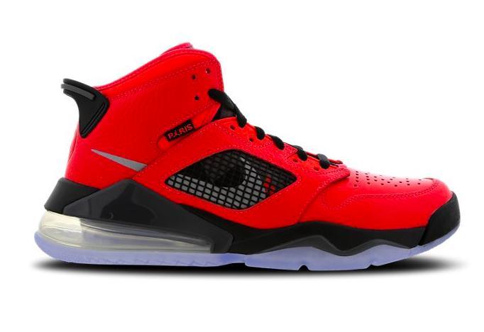 Jordan Mars 270X パリサンジェルマンレッドシルバーブラック Jordan Mars 270 X PSG Red-Silver-Black