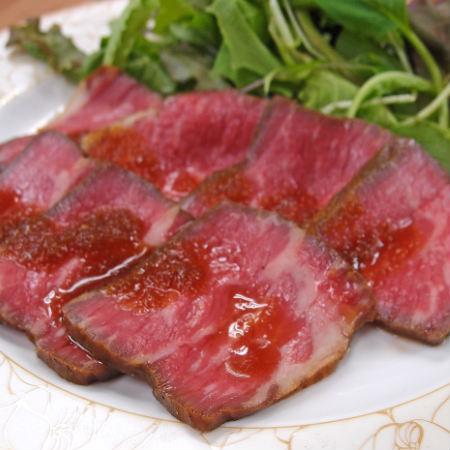 数量限定 アンガス種トライチップローストビーフ 200g 希少部位 稀少部位 ともさんかく ローストビーフ グルメ お返し オードブル 牛もも肉 赤身肉 牛肉 ブロック