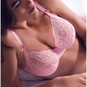 大きいサイズ 30%OFF 【SALE セール】 PRIMADONNA プリマドンナ Pd012LR ピンク MADISON 限定カラー フルカップ ブラジャー MAD016-2121 老舗 ランジェリーブランド Prima Donna ベルギー