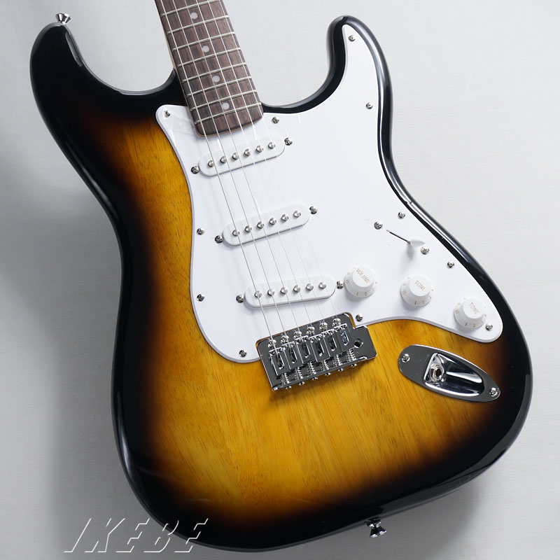 Squier by Fender《スクワイヤー》 Bullet Strat w/Tremolo (Brown Sunburst) 【あす楽対応】 【oskpu】