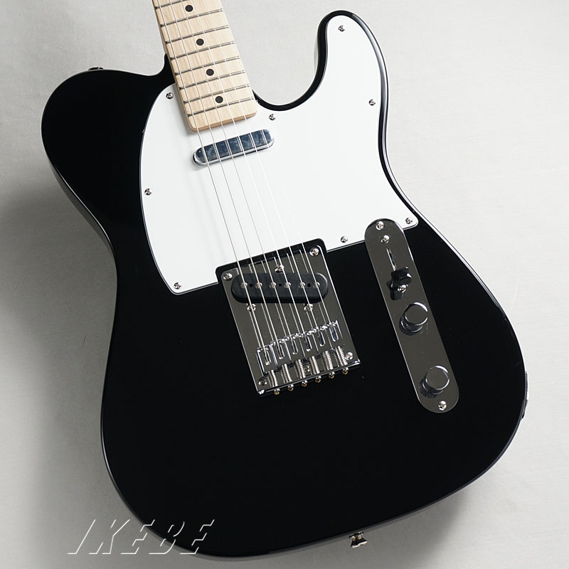 Squier by Fender 《スクワイヤー》Affinity Series Telecaster(Black/Maple Fingerboard)【あす楽対応】 【oskpu】