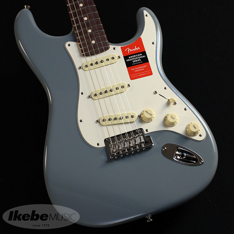 Fender USA《フェンダー》American Professional Stratocaster (Sonic Gray/Rosewood)【お取り寄せ品】 【oskpu】