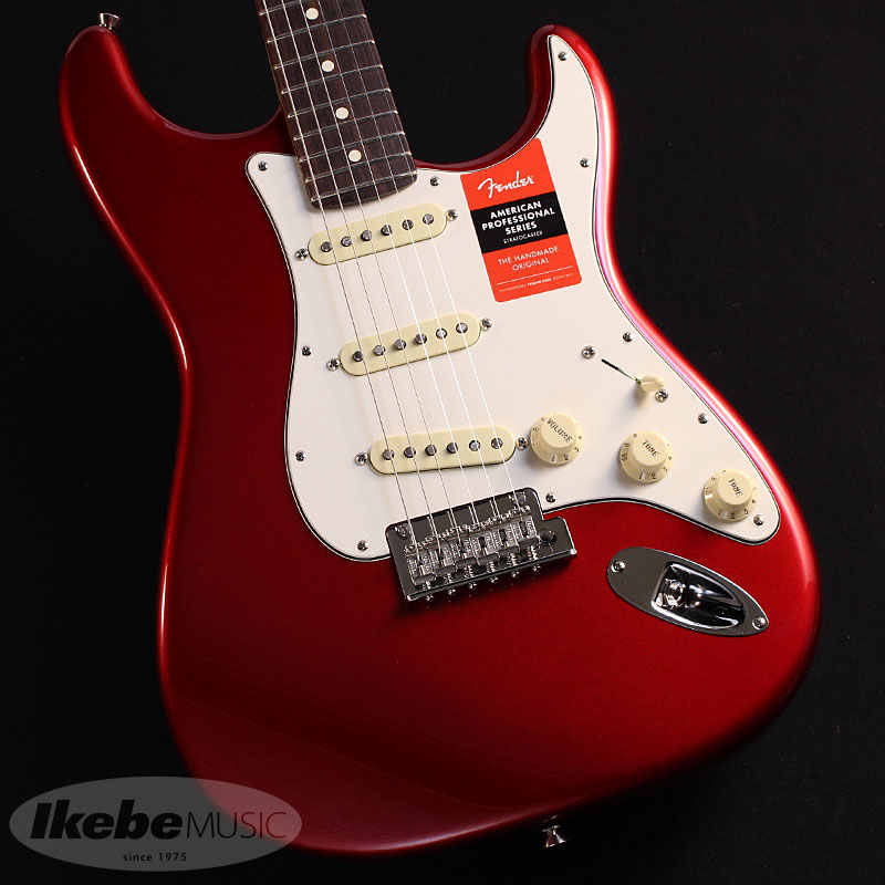 Fender USA《フェンダー》American Professional Stratocaster (Candy Apple Red/Rosewood)【お取り寄せ品】 【oskpu】