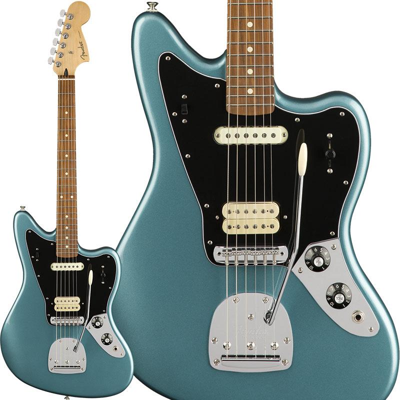 Fender MEX《フェンダー》Player Jaguar (Tidepool) [Made In Mexico] 【あす楽対応】 【oskpu】