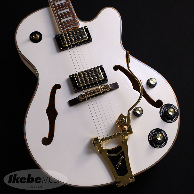 Epiphone 《エピフォン》 Emperor Swingster Royale (Pearl White)【数量限定エピフォン・アクセサリーパック・プレゼント】【あす楽対応】