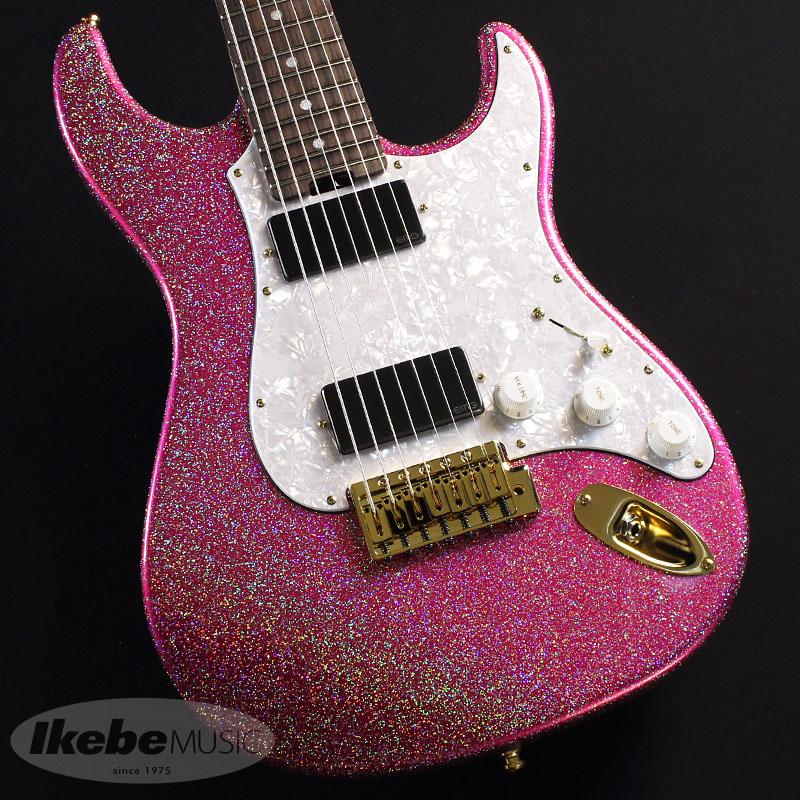 ESP SNAPPER-7 Ohmura Custom [Takayoshi Ohmura Model] (Twinkle Pink) 【即納可能!】【あす楽対応】