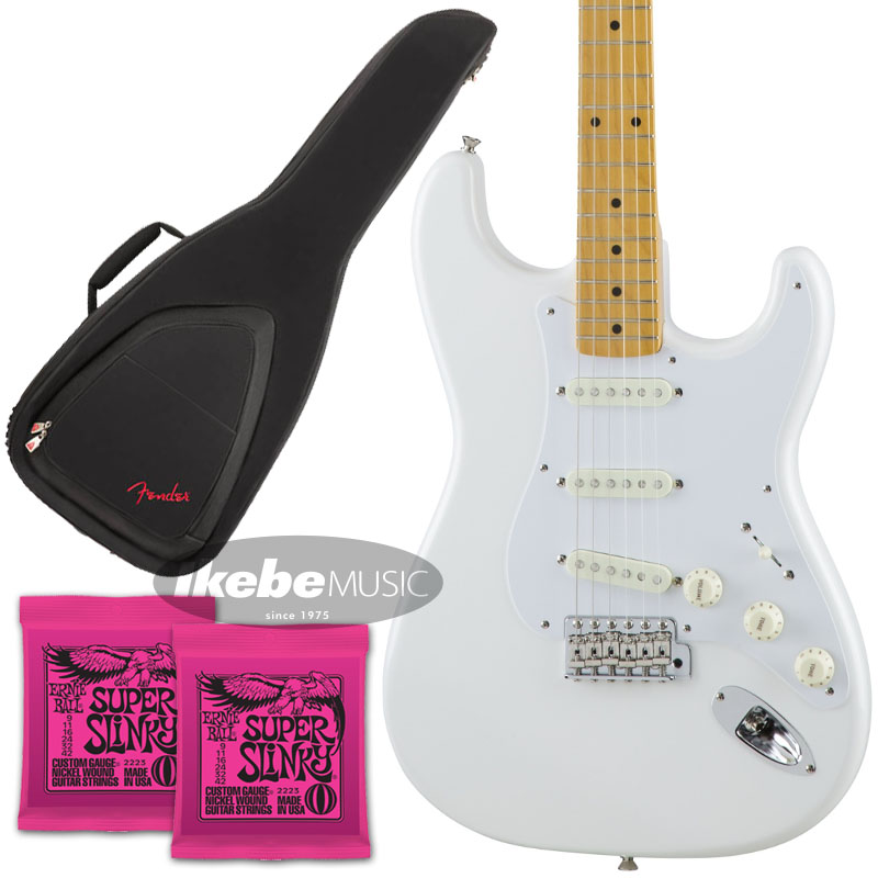 Fender 《フェンダー》(Made in Japan Traditional)Traditional 50s Stratocaster (Arctic White) [Made in Japan] 【お得なFenderギグケース&ERNIE BALL弦2個セット!】【あす楽対応】 【oskpu】