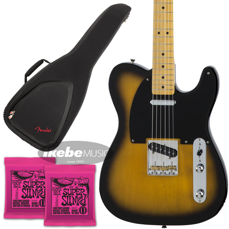 Fender 《フェンダー》(Made in Japan Traditional)Traditional 50s Telecaster (2-Color Sunburst) [Made in Japan] 【お得なFenderギグケース&ERNIE BALL弦2個セット!】【あす楽対応】 【oskpu】