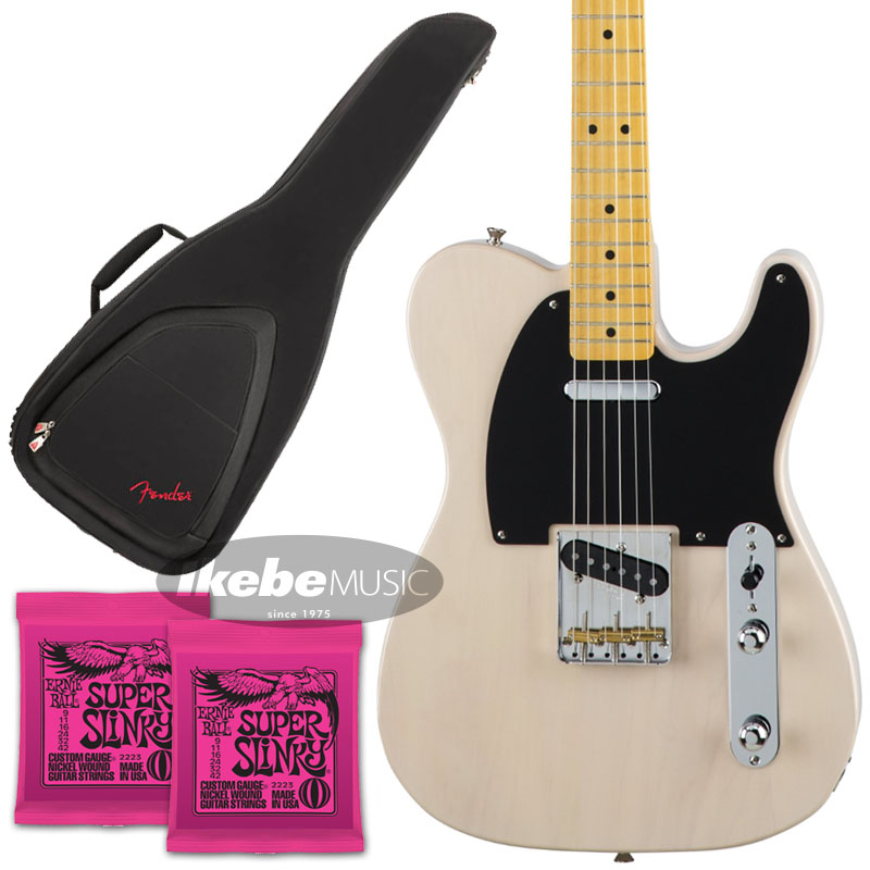 Fender 《フェンダー》(Made in Japan Traditional)Traditional 50s Telecaster (US Blonde) [Made in Japan] 【お得なFenderギグケース&ERNIE BALL弦2個セット!】【あす楽対応】 【oskpu】