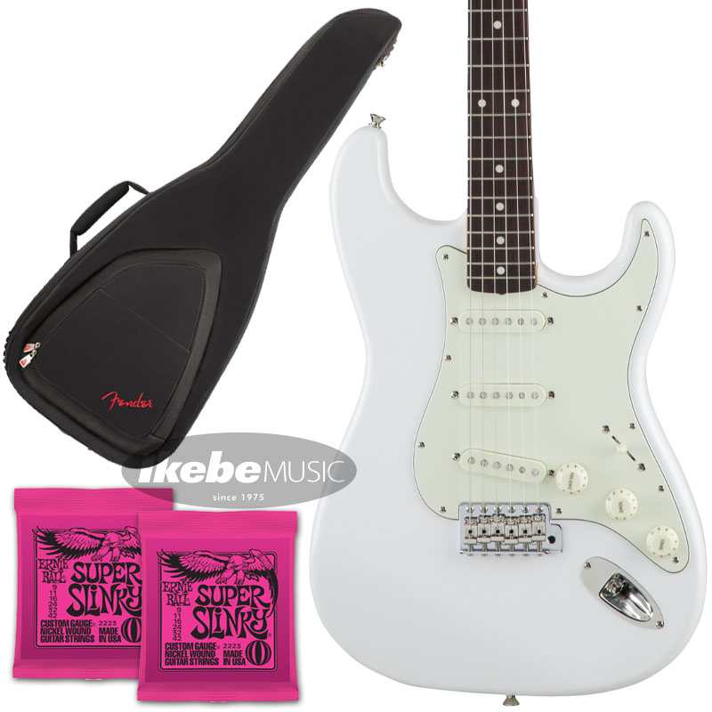 Fender 《フェンダー》(Made in Japan Traditional)Traditional 60s Stratocaster (Arctic White) [Made in Japan] 【お得なFenderギグケース&ERNIE BALL弦2個セット!】【あす楽対応】 【oskpu】