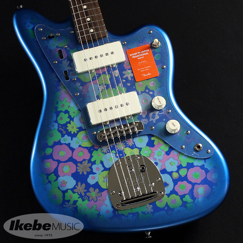 Fender 《フェンダー》(Made in Japan Traditional)Traditional 60s Jazzmaster (Blue Flower) [Made in Japan]【あす楽対応】 【oskpu】