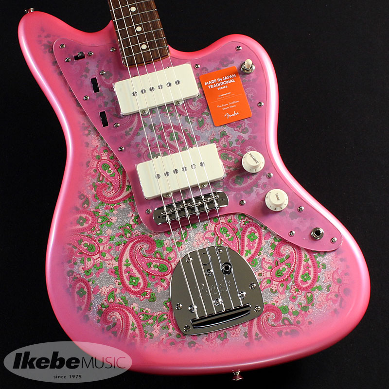 Fender 《フェンダー》(Made in Japan Traditional)Traditional 60s Jazzmaster (Pink Paisley) [Made in Japan]【あす楽対応】 【oskpu】