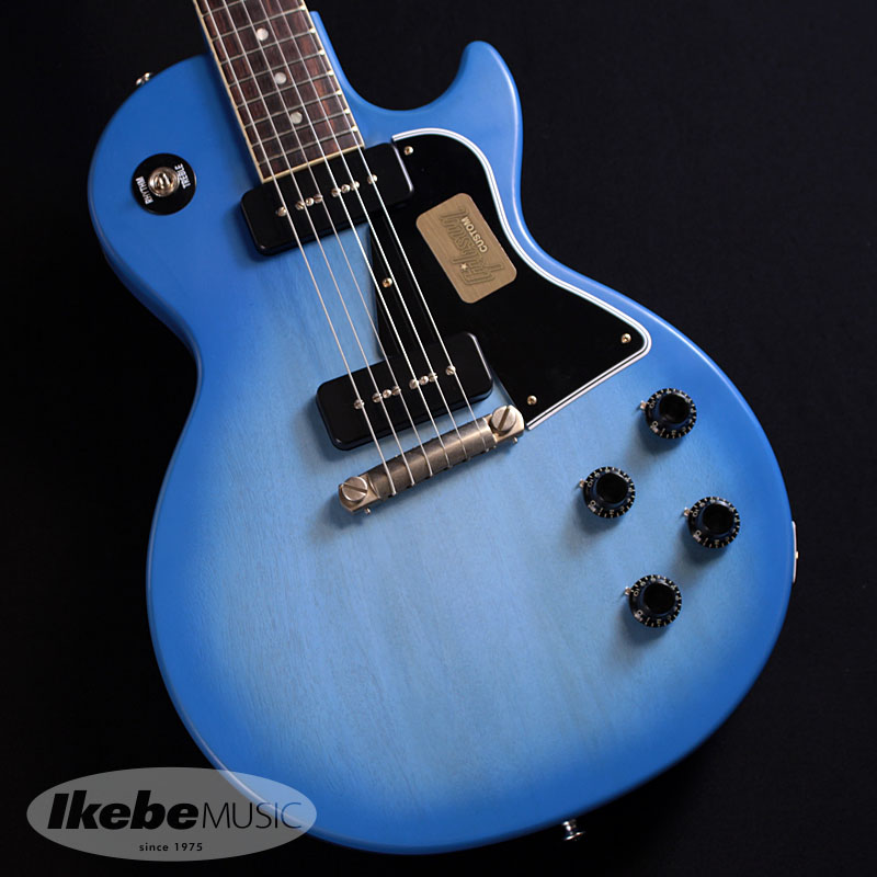 Gibson CUSTOM SHOP Limited Run 1960 Les Paul Special Single Cut VOS (Blue Burst) 【特価】【あす楽対応】