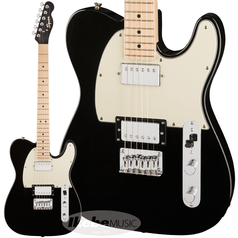 Squier by Fender《スクワイヤー》 Contemporary Telecaster HH (Black Metallic/Maple Fingerboard) 【お取り寄せ品】【oskpu】