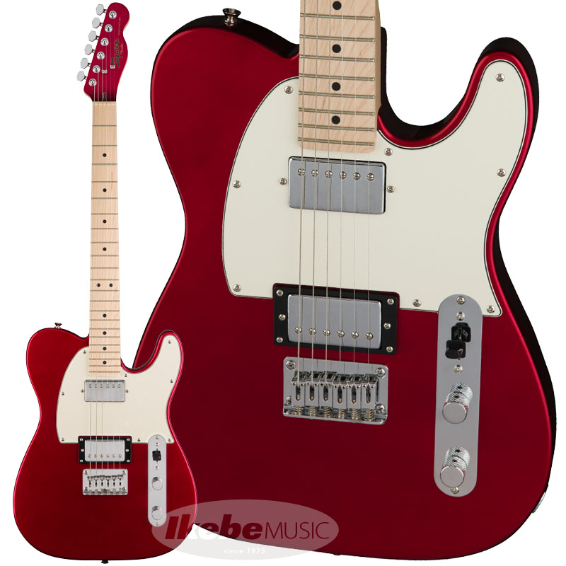 Squier by Fender《スクワイヤー》 Contemporary Telecaster HH (Dark Metallic Red/Maple Fingerboard) 【お取り寄せ品】【oskpu】