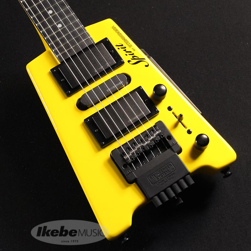 STEINBERGER 《スタインバーガー》Spirit GT-PRO DELUXE (HY/Hot Rod Yellow) 【あす楽対応】