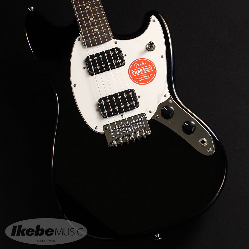 Squier by Fender《スクワイヤー》Bullet Mustang HH (Black)【お取り寄せ品】【oskpu】, モロツカソン c701849e