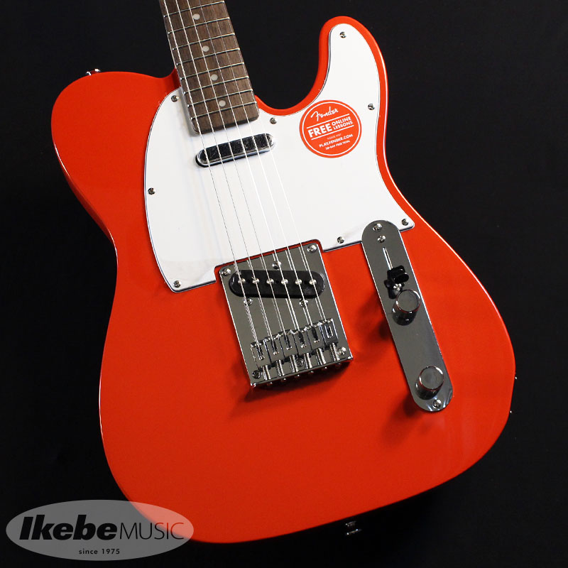 Squier by Fender 《スクワイヤー》Affinity Series Telecaster(Race Red/Rosewood Fingerboard)【あす楽対応】 【oskpu】