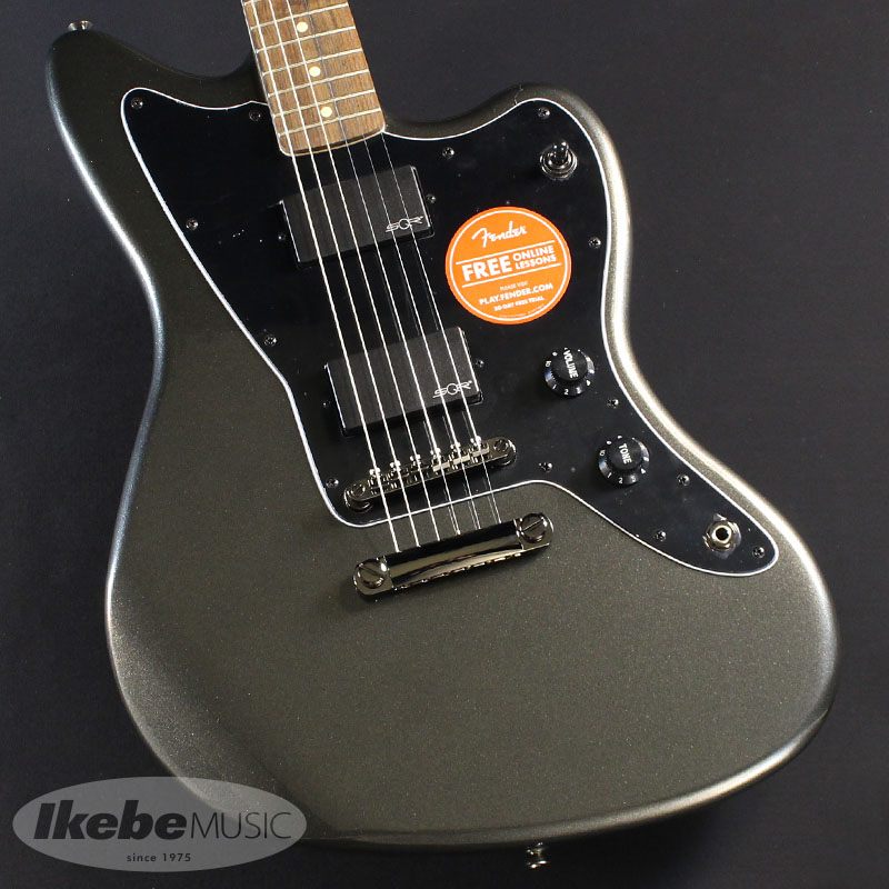 Squier by Fender 《スクワイヤー》Contemporary Active Jazzmaster HH ST,(Graphite Metallic/Laurel Fingerboard) 【お取り寄せ品】