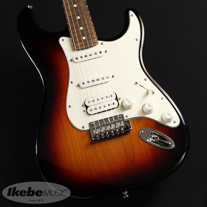 Fender MEX《フェンダー》Player Stratocaster HSS (3-Color Sunburst/Pau Ferro) [Made In Mexico] 【あす楽対応】【oskpu】