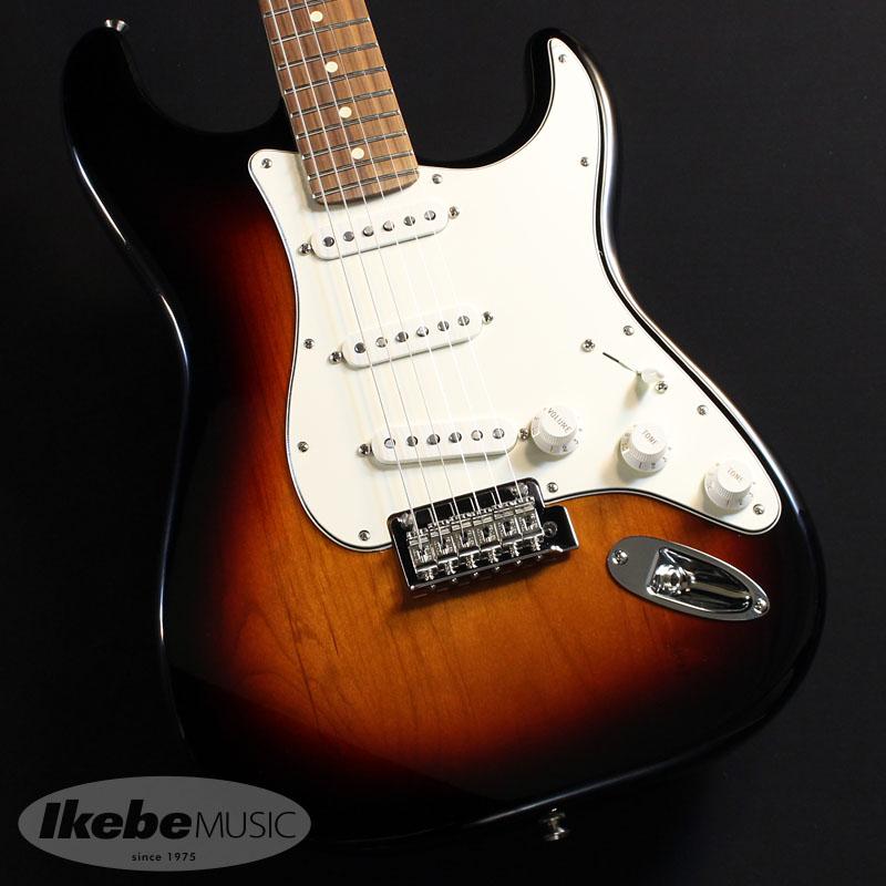 "Fenderが提唱する新たな定番モデル""Player Series"" Fender MEX《フェンダー》Player Stratocaster 3-Color 引出物 Sunburst Made Ferro oskpu Mexico Pau In あす楽対応 期間限定送料無料"