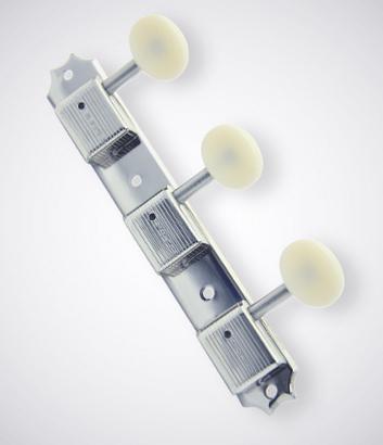 KLUSON 《クルーソン》 3 Per Side / Plastic Button / Nickel【セット販売】