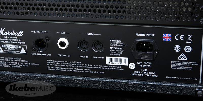 Marshall 《マーシャル》 JVM210H stealth 【特価品】【あす楽対応】