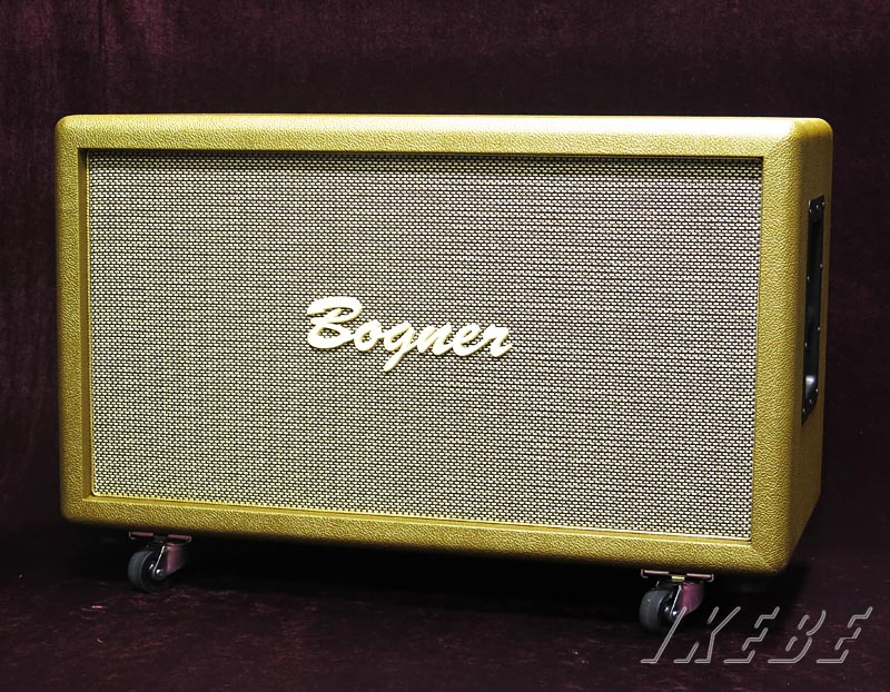 Bogner 《ボグナー》2×12Cabinet Closed Back 8Ω【Gold/Salt&Pepper】