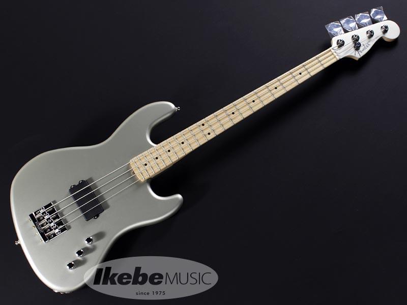 Fender USA《フェンダー》Flea Signature Active Jazz Bass (Satin Inca Silver)【あす楽対応】【スペシャル タイムセール 2020】