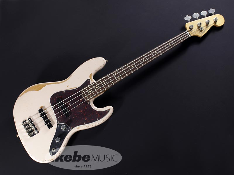Fender MEX《フェンダー》Flea Jazz Bass (Rosewood Fingerboard/Roadworn Shell Pink) [Made In Mexico]【あす楽対応】