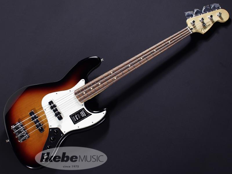 Fender MEX《フェンダー》Player Jazz Bass (3-Color Sunburst/Pau Ferro) [Made In Mexico]【あす楽対応】【oskpu】