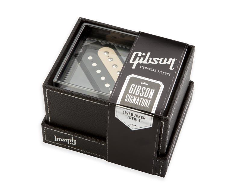 Gibson Livebucker [Bridge/Treble] (Zebra)