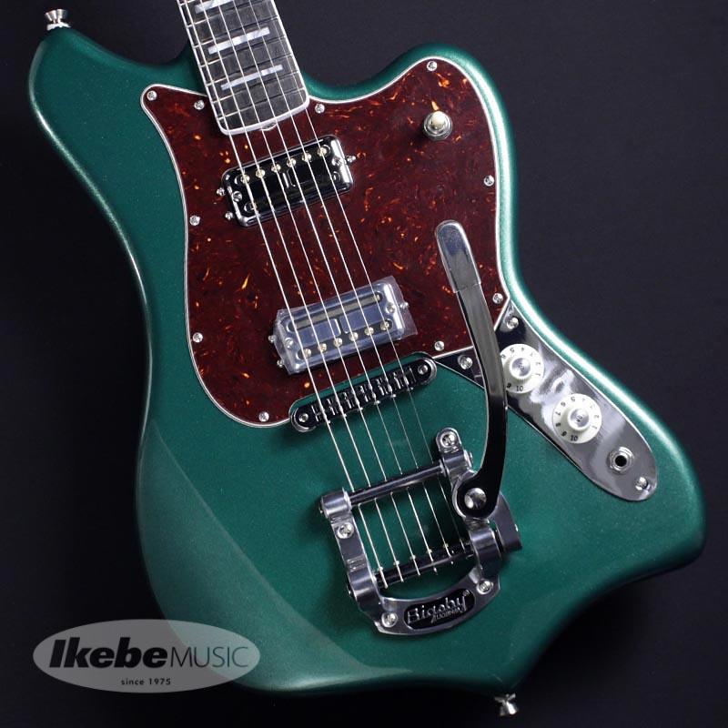 【日本産】 Fender USA 《フェンダー》Parallel Universe Volume II Maverick Dorado (Mystic Pine Green/Ebony) [Made In USA]【】【oskpu】, ディーシーコンフォート 77c64de3