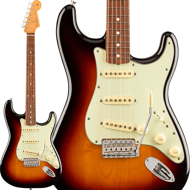 Fender MEX《フェンダー》Vintera '60s Stratocaster (3-Color Sunburst) [Made In Mexico]【あす楽対応】【oskpu】