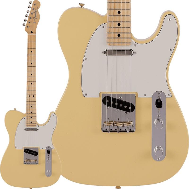 定番モデルのルックスにモダンなスペックが融合 Fender《フェンダー》2021 Collection Made in 大人気 Japan Hybrid White あす楽対応 oskpu Maple Telecaster 新作 人気 Vintage II