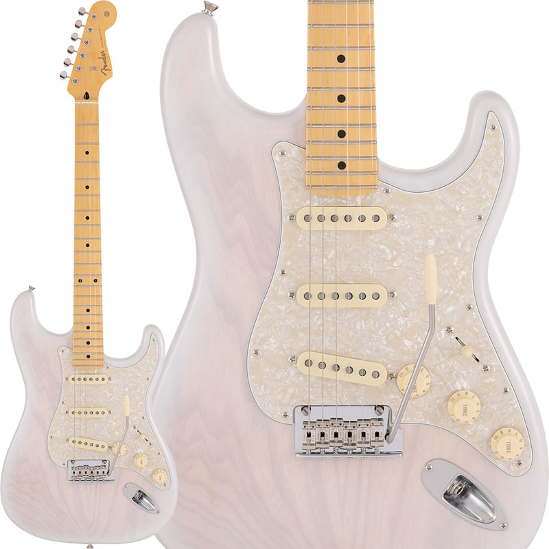 Fender 《フェンダー》Made in Japan 2019 Limited Collection Stratocaster (White Blonde/Maple Fingerboard) 【あす楽対応】【oskpu】