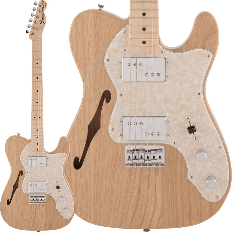 Fender 《フェンダー》(Made in Japan Traditional)Traditional 70s Telecaster Thinline (Natural) 【あす楽対応】 【oskpu】