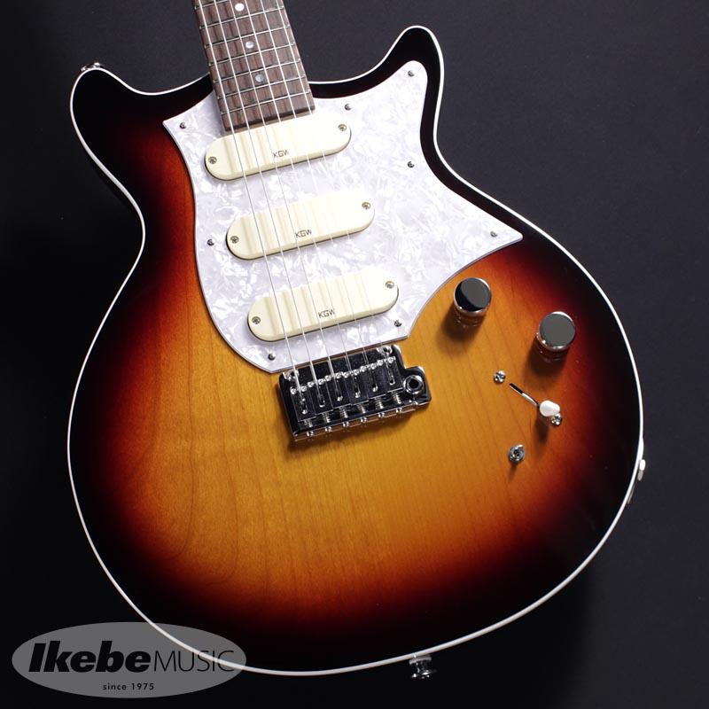 Kz Guitar Works《ケイズギターワークス》 Kz One Solid DSD10 Synchro Tobacco Sunburst