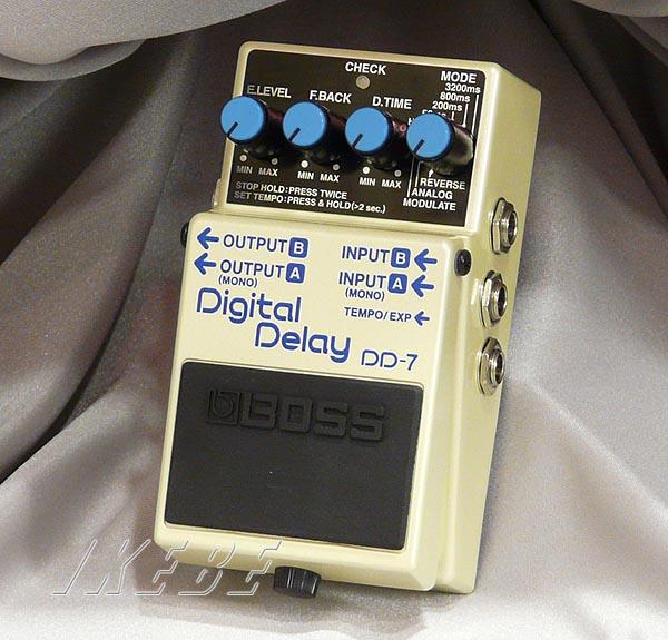BOSS 《ボス》 DD-7 (Digital Delay) 【oskpu】【もれなく!BOSS ピンバッチプレゼント】