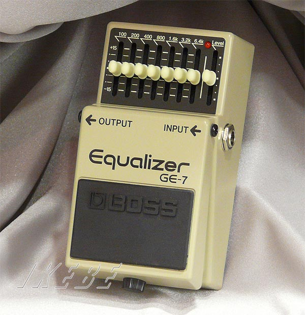 BOSS 《ボス》 GE-7 (Equalizer) 【期間限定★送料無料】【IKEBE×BOSSオリジナルデザイン缶クージープレゼント】【oskpu】